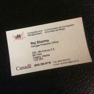 IRB Business Card